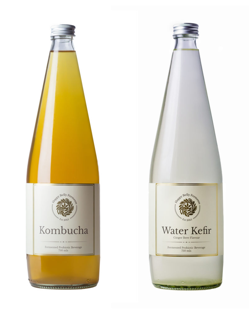 Water Kefir and Kombucha
