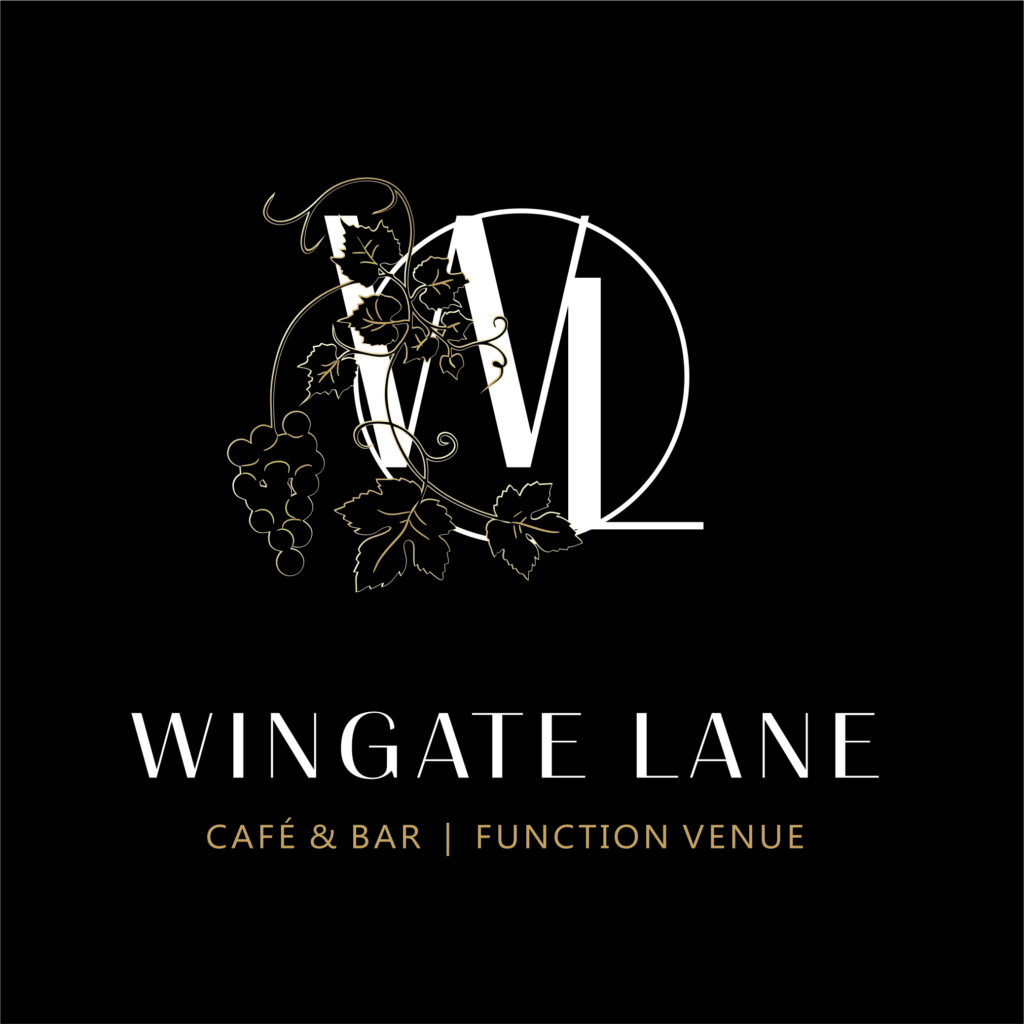 Wingate Lane Logo Design Black